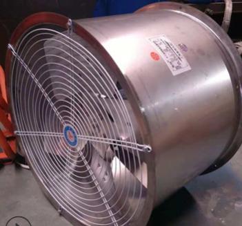 台尔SF304不锈钢风机 耐高温防油防潮电机轴流通风机不锈钢叶轮