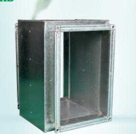 厂家直销矩形 圆形消声器 折板式消声器 消声弯头 静压箱