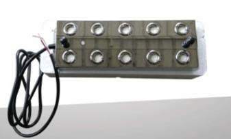 工业十头雾化板制雾装置 景观水池假山造雾喷雾器超声波雾化器