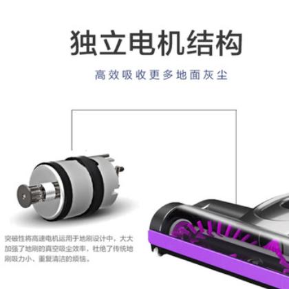 手持式无线吸尘器家用车用便捷式多功能大功率充电式除螨吸尘器