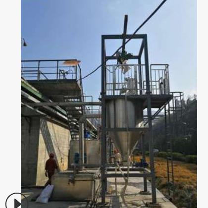 全自动粉末活性炭投加装置焦化厂水厂应急污水净化设备