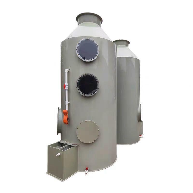 pp不锈钢脱硫除尘酸雾工业废气净化水淋塔