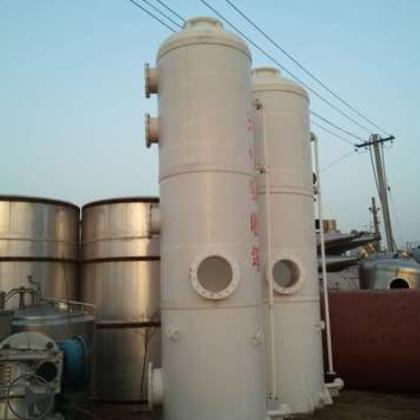 废气处理设备 立式PP喷淋塔酸雾除臭净化塔 废气吸收塔