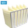 中效 F8铝框袋式过滤器 高温玻纤 袋式合成纤维布袋式过滤袋
