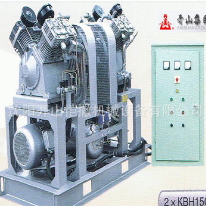 KB组合型高压工业用活塞式空气压缩机机油润滑固定式压缩设备直销