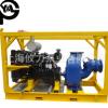 大流量城市防汛柴油机水泵 移动应急柴油机防洪排涝自吸水泵