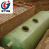 批发玻璃钢缠绕化粪池1-100立方地埋污水处理设备家用小区化粪池