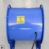厂家直销低噪音抽风机排烟排风机工业圆筒管道轴流通风机除尘风扇