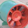厂家直销碳钢防爆双速排烟风机 定制htf消防专用高温排烟轴流风机