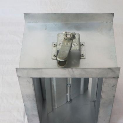 304不锈钢电动风阀防火阀 70度280°C圆形管道蝶阀气动手动调节阀