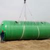 缠绕一体玻璃钢化粪池厂家 1-100方玻璃钢消防水池隔油池专卖
