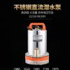 不锈钢抽水泵微型离心泵电瓶电动车家用农用12V48V船用直流潜水泵