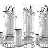 不锈钢污水泵工业泵立式电水泵耐腐蚀高扬程工厂排污潜水电泵
