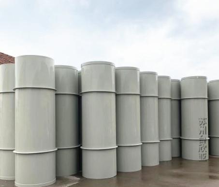 厂家定制 pp风管通风排气塑料管 耐酸碱腐蚀pp风管 pp通风管道