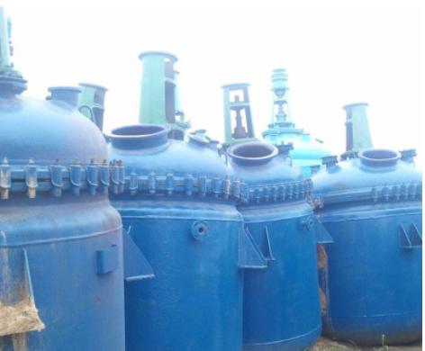 专业反应釜厂家 水热合成反应釜聚四氟乙烯内衬二手2吨搪瓷反应釜