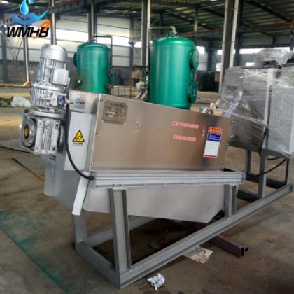 山东威铭厂家直销压滤机泥水分离污水处理废水处理叠螺污泥脱水机