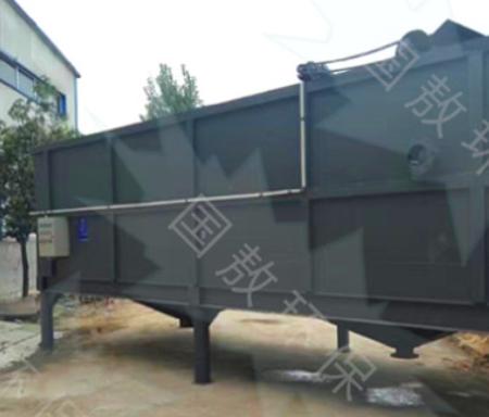 厂家供应气浮机 平流式溶气气浮机 屠宰养殖一体化污水处理设备