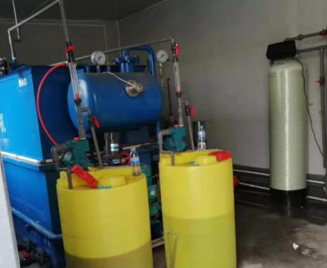 地理式气浮机 化工造纸污水处理设备 农村屠宰养殖场设备可定制