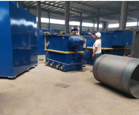 厂家供应气浮机 养殖屠宰一体化污水处理设备 平流式溶气气浮机