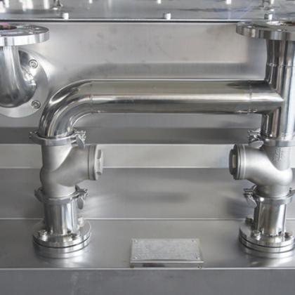 污水提升设备 超大人孔设计 密闭式不锈钢地下室卫生间污水处理