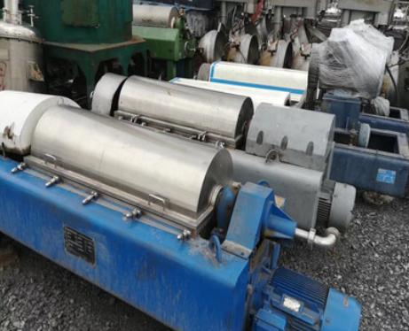 厂家450二手卧螺离心机污水固液脱水卧螺沉降常速离心脱水机污水