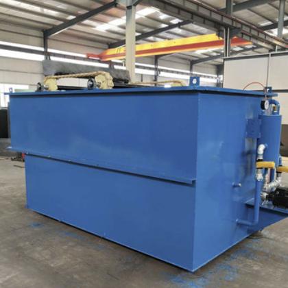 定制污水处理设备气浮机 溶气气浮机污水处理设备 气浮机平流式