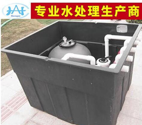 地埋式一体化过滤器 石英砂一体化过滤器定制 游泳池水处理设备