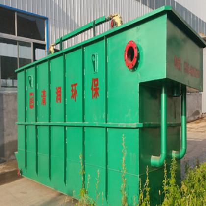 小型电镀厂酸洗污水处理设备 可根据水量订做小型气浮机设备 清润
