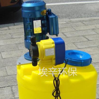 两相电 一体化加药装置 投药搅拌桶 搅拌机加药设备 洗洁精搅拌器