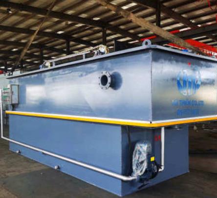 新农村工业印染养殖屠宰污水处理设备 平流式电解溶气气浮机装置