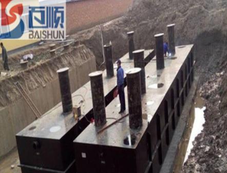 养殖污水处理设备 地埋式一体化污水处理设备 设备厂家