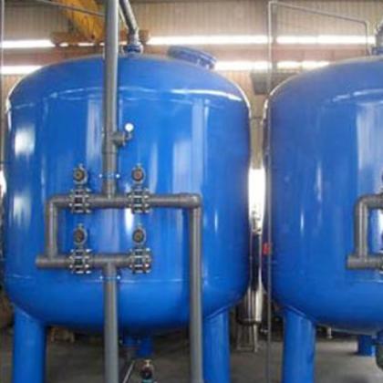 厂家直销304不锈钢多介质过滤器定制河湖水过滤除杂污水处理设备