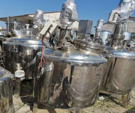 供应二手生物菌培养罐 发酵罐 钛材反应釜 高压反应釜