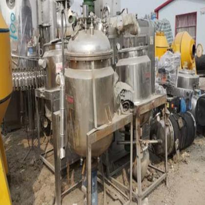 供应出售二手均质乳化机 200升真空均质乳化机 固定式乳化机