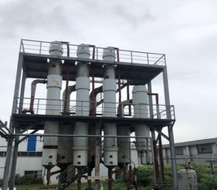 出售二手316L蒸发器 不锈钢蒸发器 浓缩浆膜多效蒸发器价格
