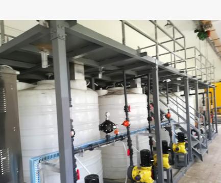 厂家定制一体化全自动加药装置一体化加药搅拌装置一体化污水处理