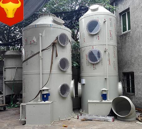 厂家直销pp水幕除尘设备 有机废气处理设备酸洗 填料塔 旋流塔