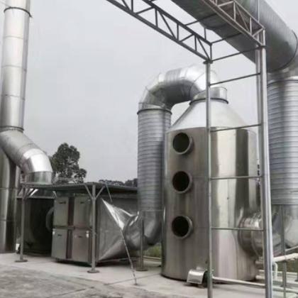 厂家供应不锈钢喷淋塔 水淋喷淋塔 低价喷淋塔