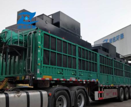 凌志食品厂污水处理设备 地埋式一体化污水处理设备 食品污水设备