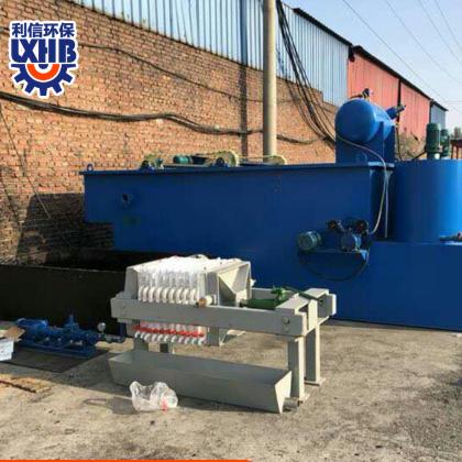 利信环保竖流式溶气气浮机 大型养猪场养牛养鸡养鸭污水处理设备