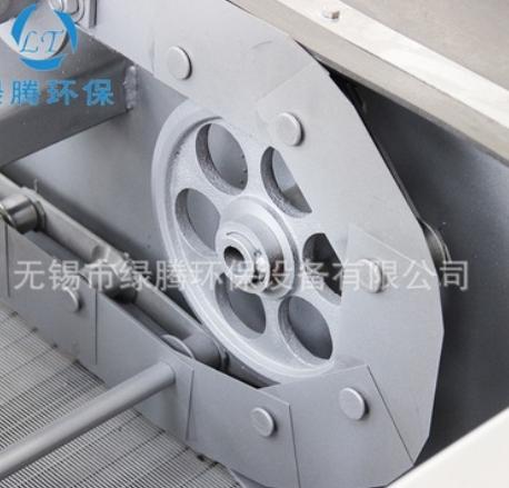 厂家供应回转式格栅除污机HGC型 耙齿机械细格栅耐磨耐用可定制