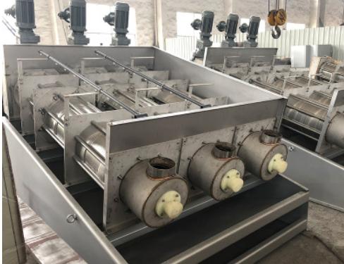 宜兴叠螺机污泥脱水机叠螺式污泥脱水机规格自选叠螺式污泥脱水机