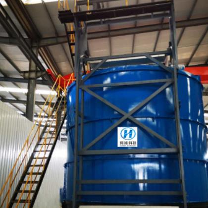 畜禽农业废弃物无害化处理发酵设备 鸡粪生物除臭高温好氧发酵罐
