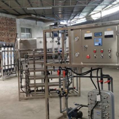 广西净水制造商供应食品、饮料加工厂 1-50吨高纯水反渗透设备