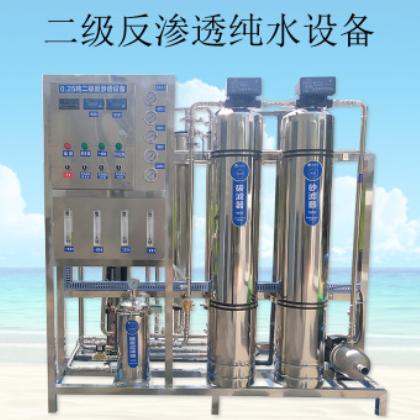 二级反渗透EDI去离子纯净水口罩厂专用不锈钢反渗透纯水设备