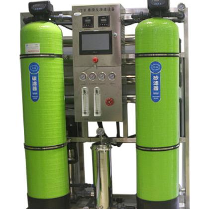 广西净水先生直销反渗透纯水设备 1T/H全自动运行 智能化检测水质