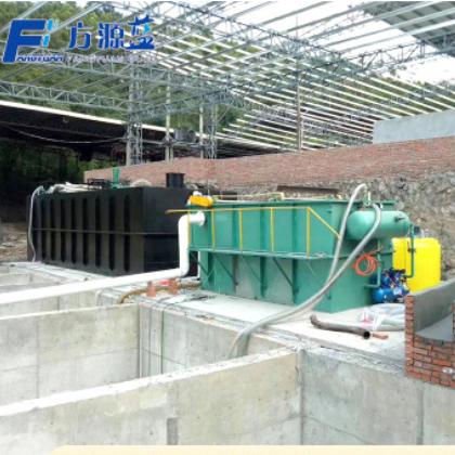 平流式溶气气浮机 酒店食品厂污水处理设备 气浮过滤一体化装置