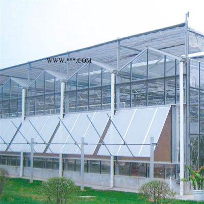 齐阳阳光板温室建设  抗风能力好 PC板温室大棚