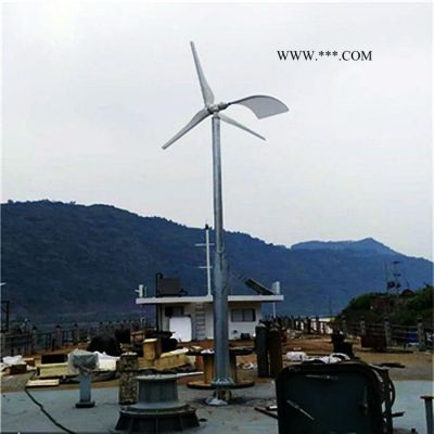 蓝润LR-2KW 家用风力发电机 小型风力发电机厂家 风能发电机组 发电量 高安装简单