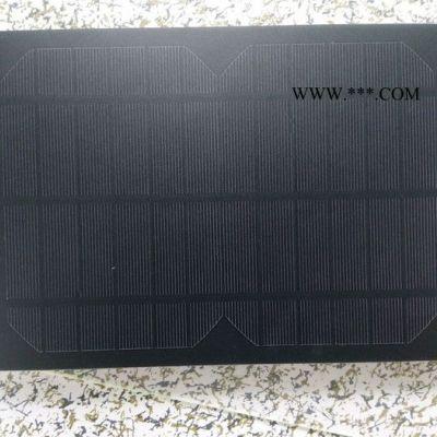新款太阳能软性板ZD5w 太阳能滴胶板 太阳能PET层压板